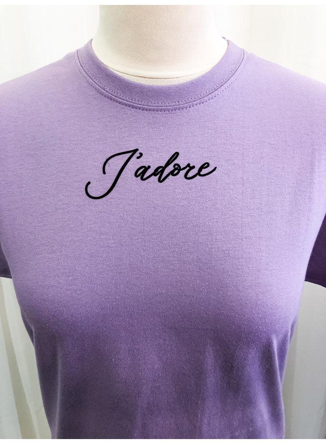 T-Shirt - Jadore / Lila