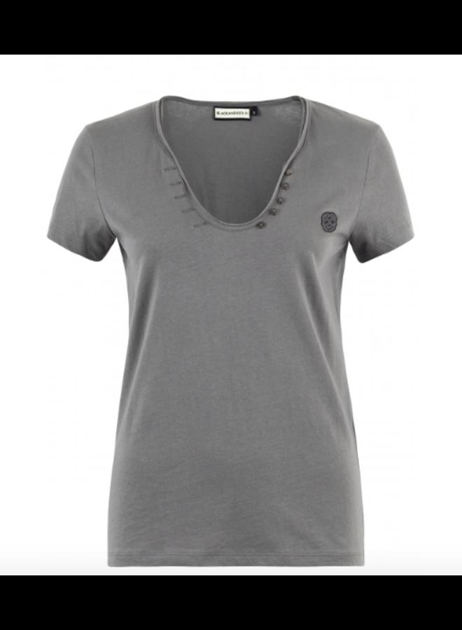 T-Shirt - Yasminella / Dark Grey