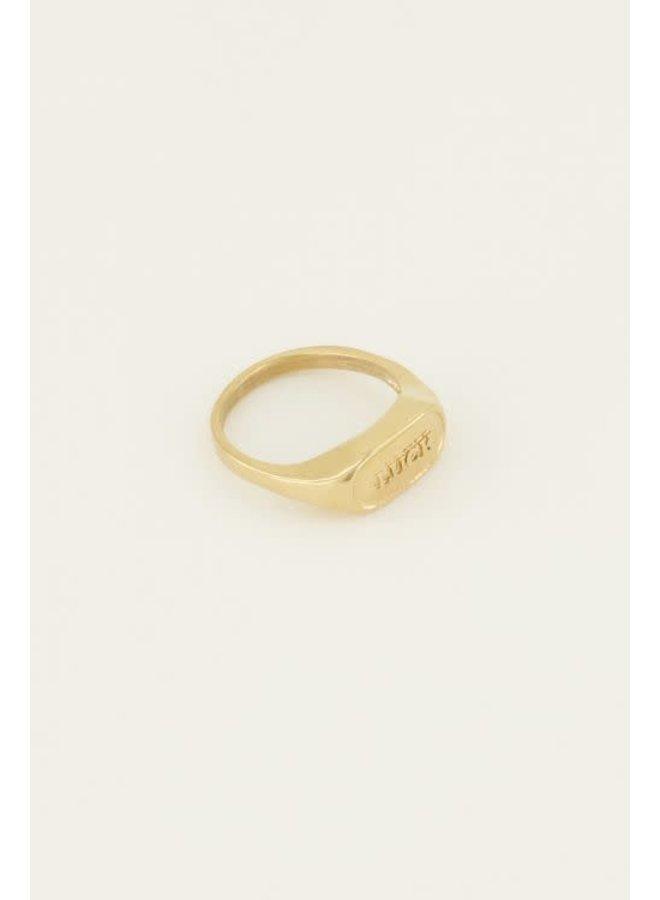 Ring - Luck / Goud