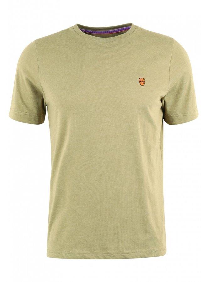 T-Shirt - Furtos / Khaki Melange - Mexico