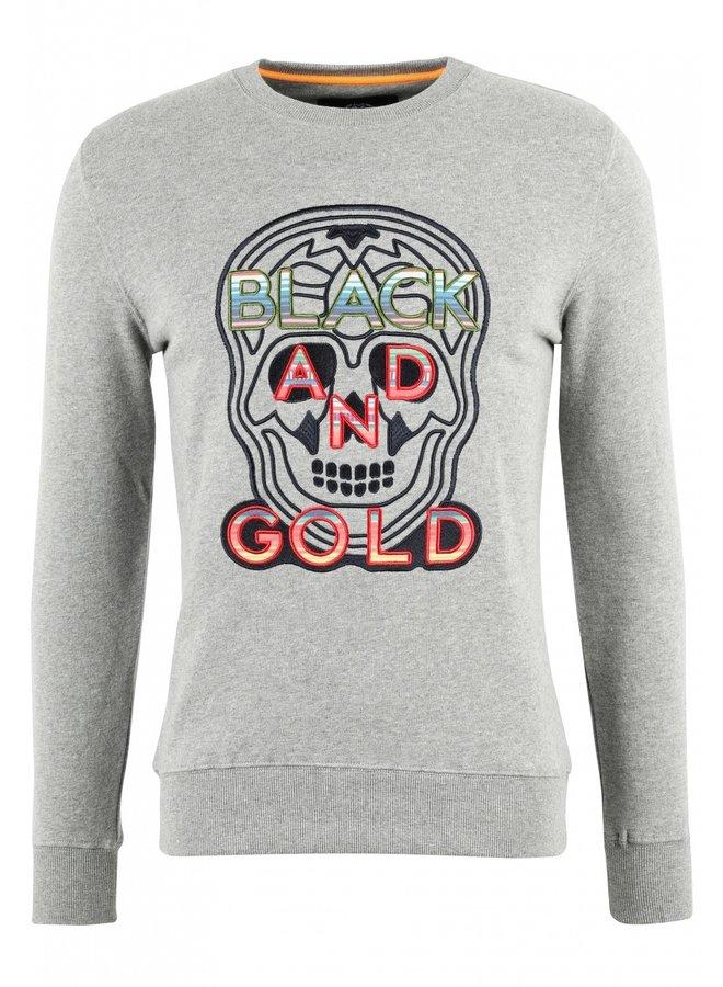Sweater - Craneo Mexico / Grey Melange