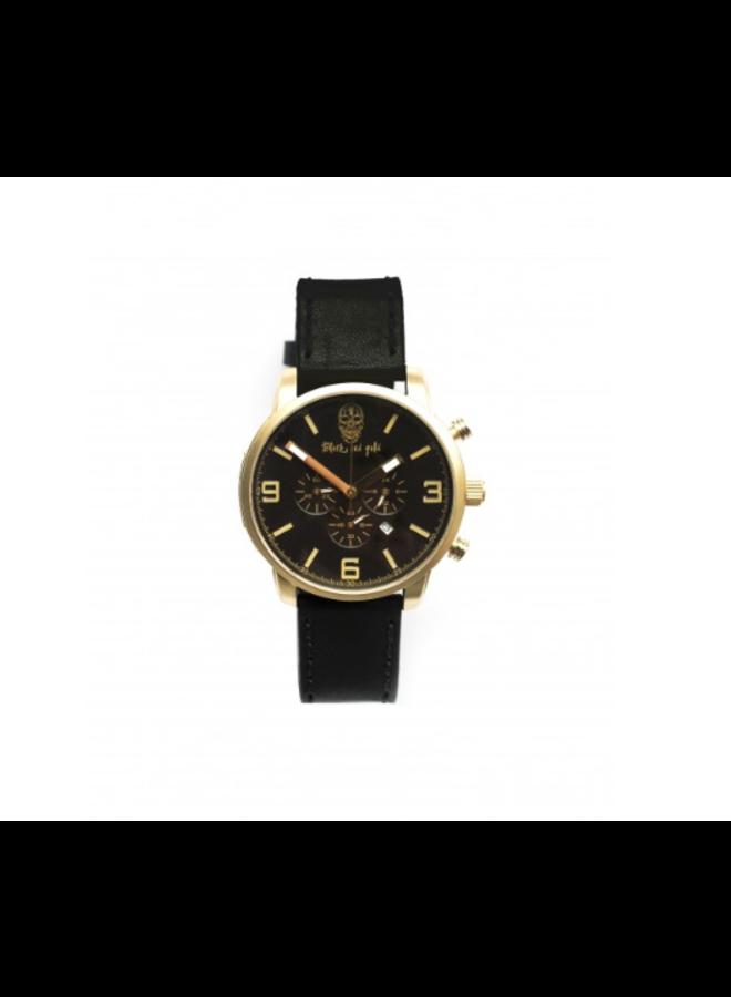 Horloge - Black Pearl Limited edition / Gold