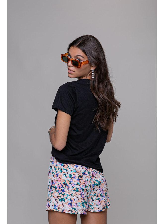 T-shirt - Peaches&Beaches Classic / Black
