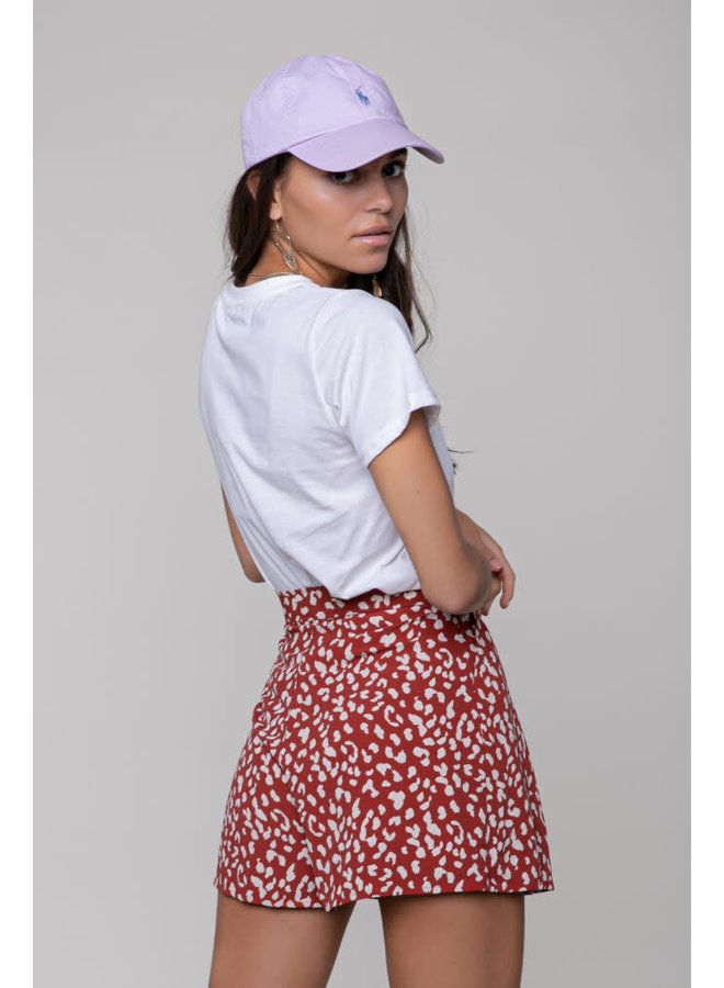 Short - Kendall Leopard / Red-White