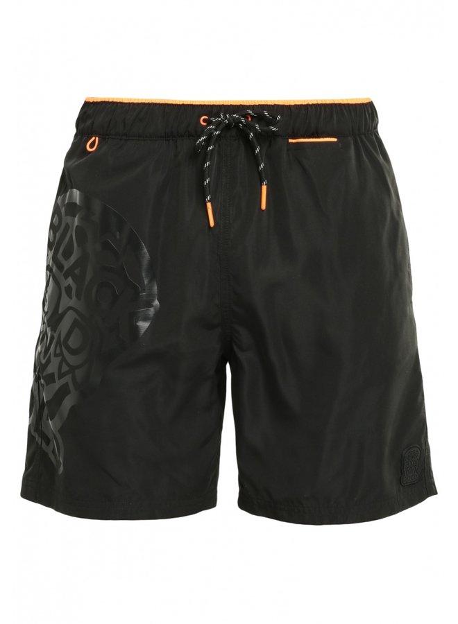 Zwemshort - Feshos / Black - Orange