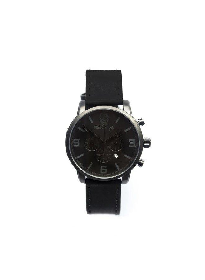 Horloge - Black Pearl - Black On Black Limited