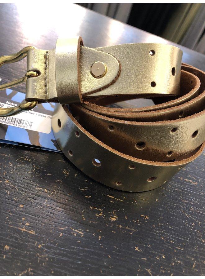 Belt - Leather / Gold