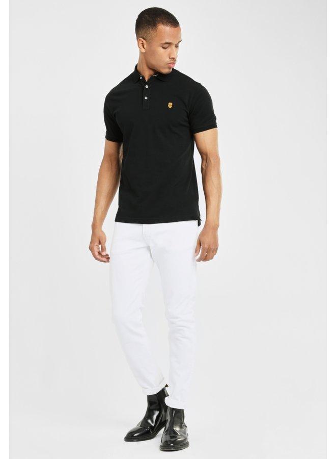 Polo - Golf De Mexico / Black - Yellow Skull