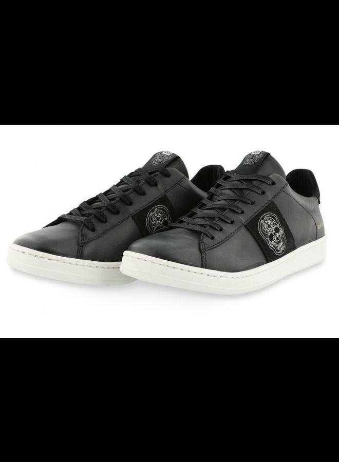 El Zapato - Schoenen / Black With Skull