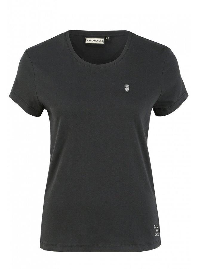 T-Shirt-Vourtana/Black