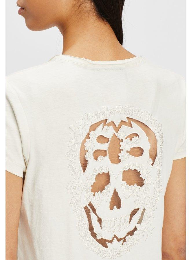 T-Shirt_Perforada-off white