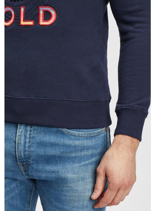 Sweater - Craneo Mexico - Navy