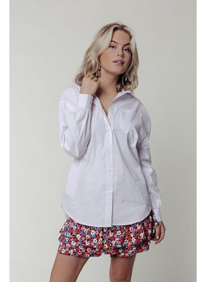 Hemd - Cece Rebelle Oversized / White