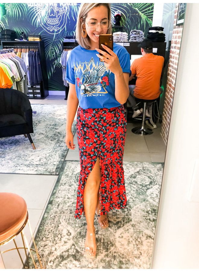 Rok - Rive Roses Maxi / Red