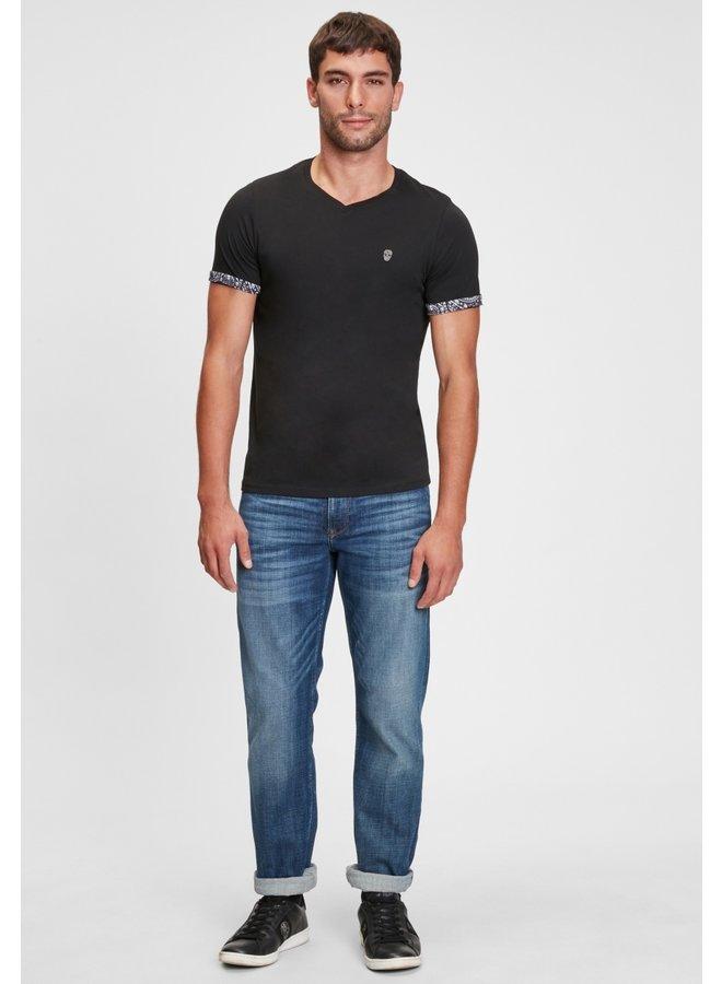 T-Shirt Vourtanos/ Black