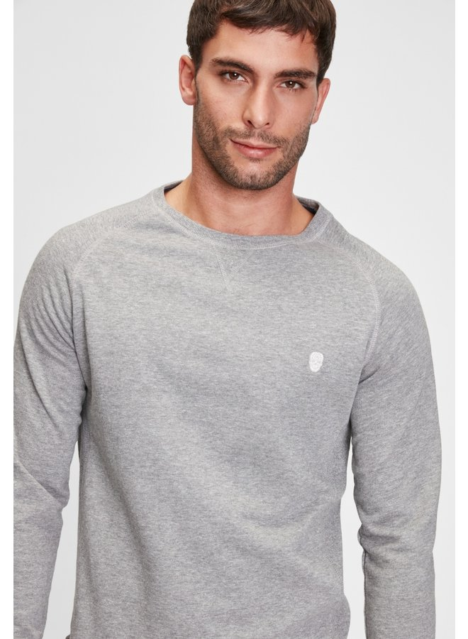 Sweater-Raglas/Medium Grey Heater