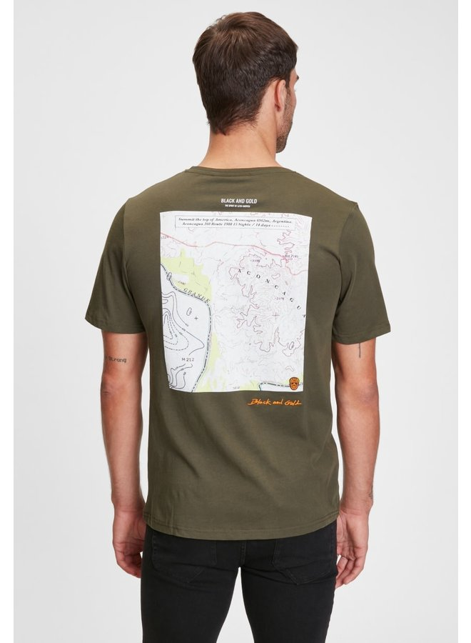 T-Shirt - Fitzroy / Forest Night