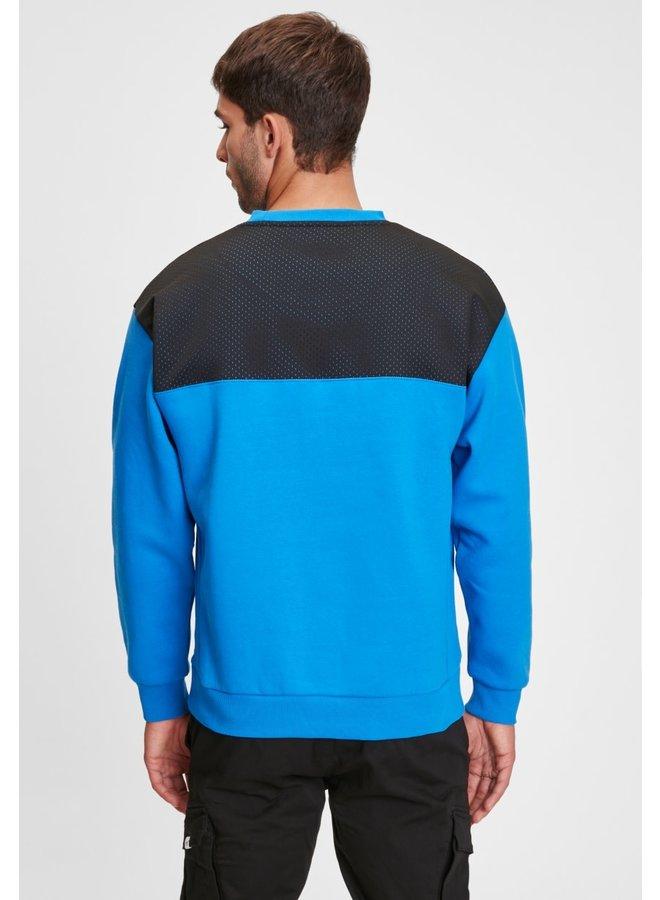 Sweater - Leopold / Lapis Blue