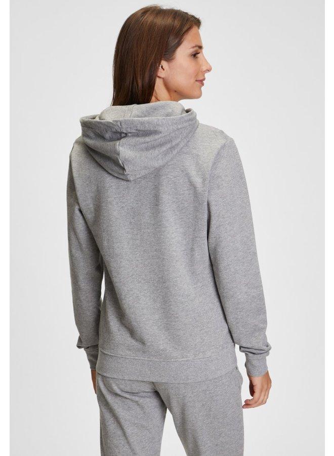 Hoodie - Canela / Medium Grey Heather