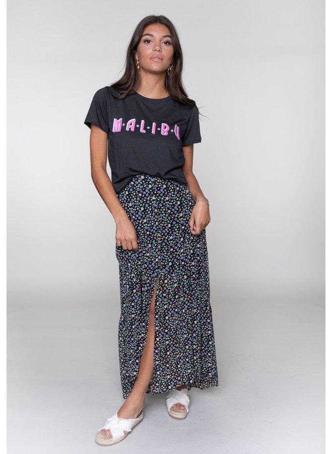 Malibu Classic Tee Women Pirate Black L