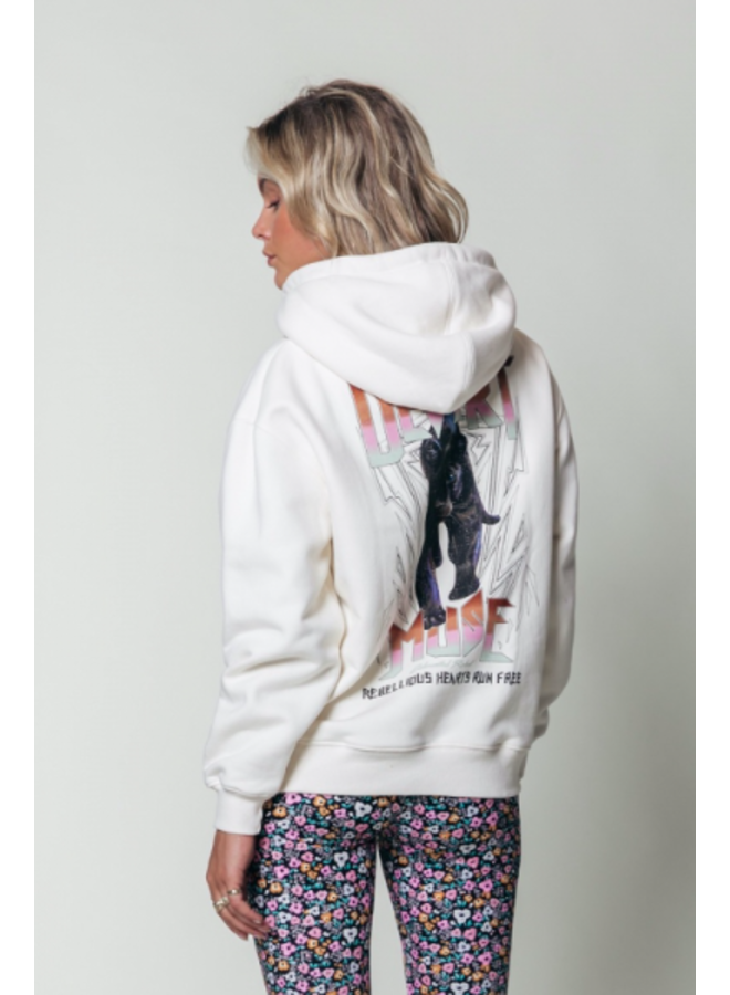 Hoodie - Desert Mused Oversized / Off White