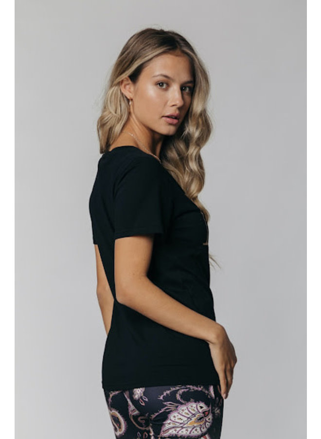 T-Shirt - Muse Glitter Classic Tee / Black