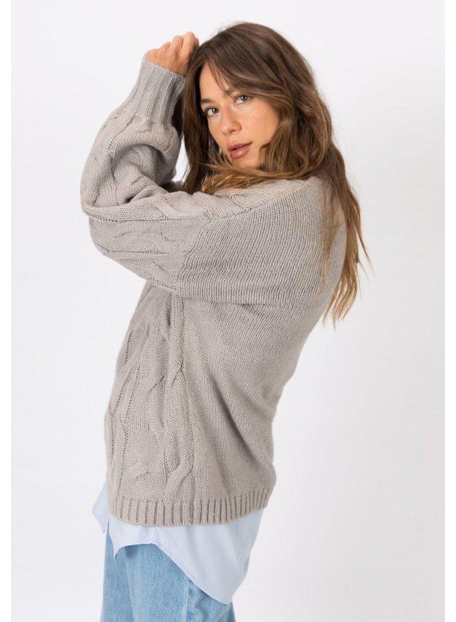 Sweater - Coltrui - Melissa / Grey