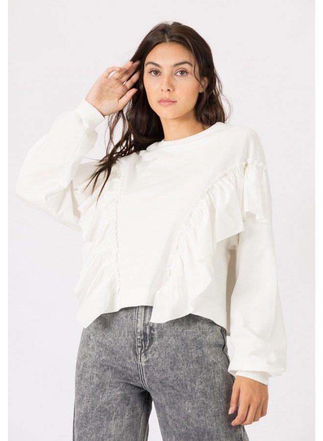 Sweater - Kiss / White