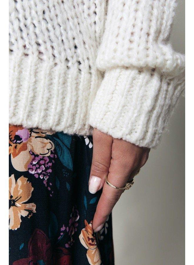 Sweater - Olivia Crew Neck / Off White