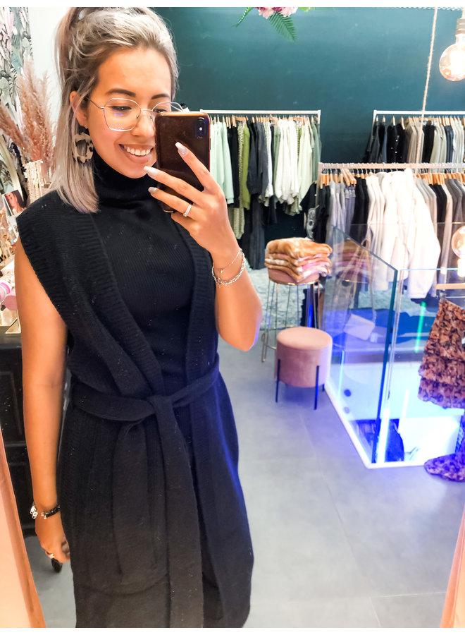 Vest - Olivia Cardigan / Black
