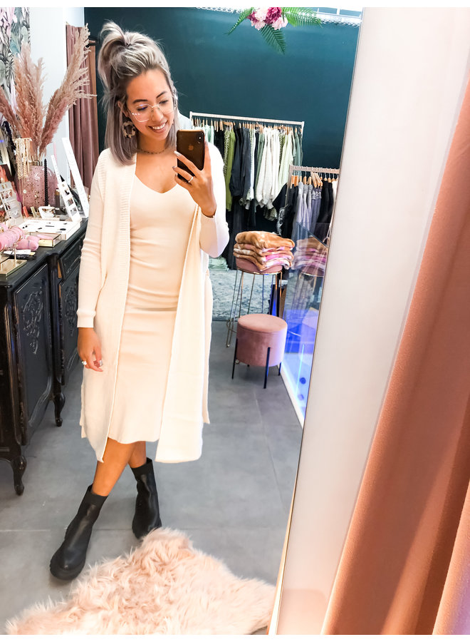 Vest - Olivia Cardigan / Beige