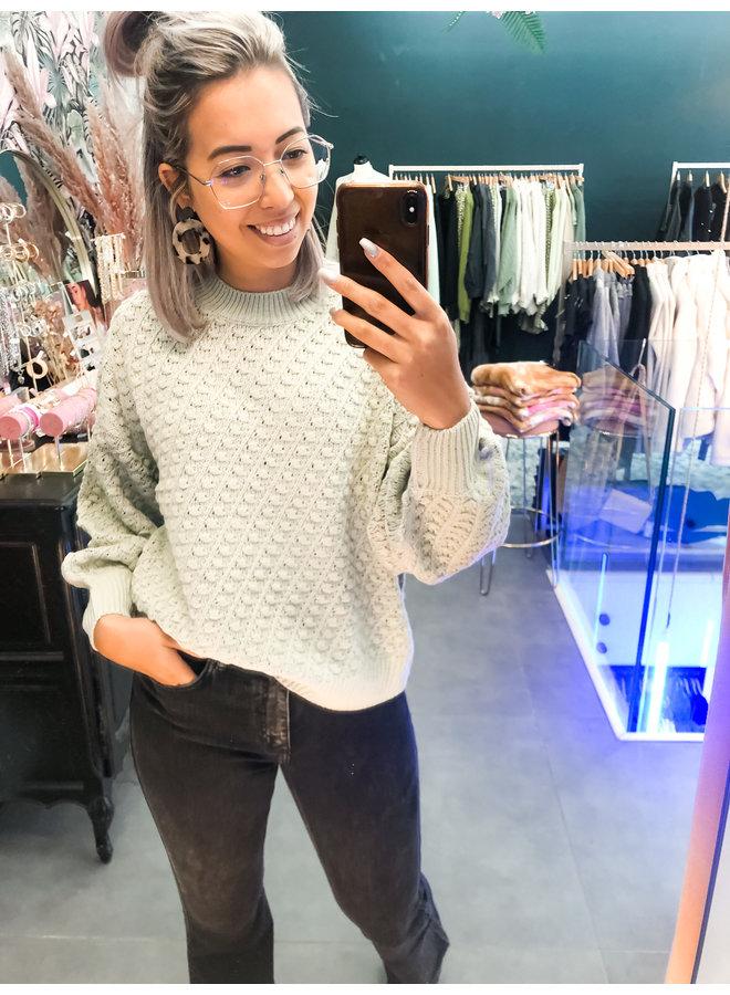 Sweater - Spotie / Beige