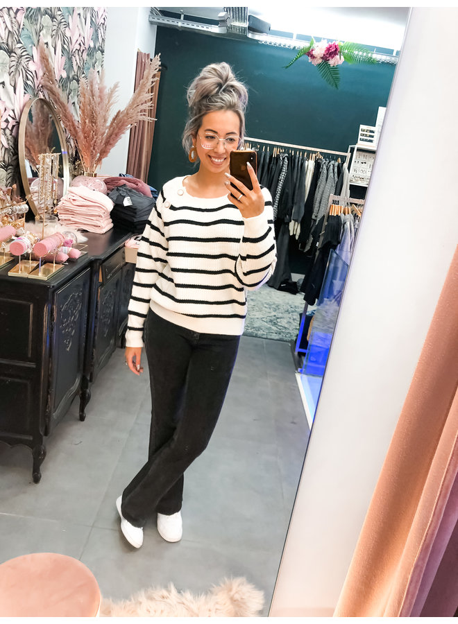Jeans - Zoe - Bootcut / Black