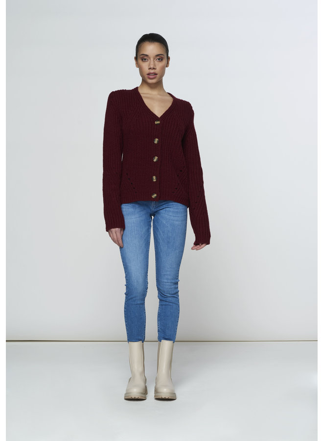 Sweater - Sara / Bordeaux