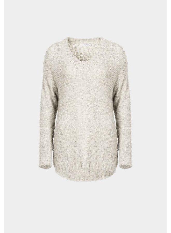 Sweater - Cinnamon / Offwhite