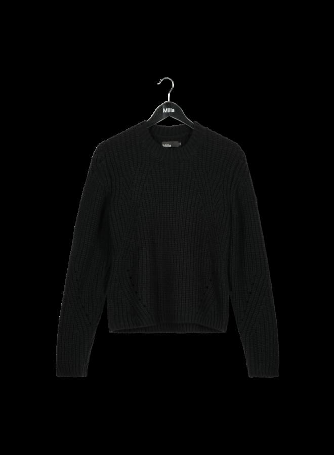 Sweater - Sandy / Black