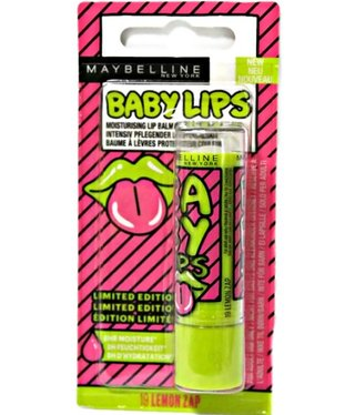 Maybelline Maybelline - Baby Lips Popart - 19 Lemon Zap