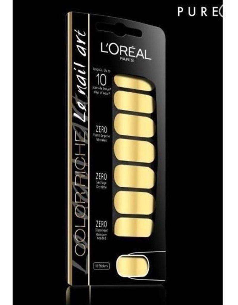 Loreal Loreal - Nail Art - 007 Feuille D'Or