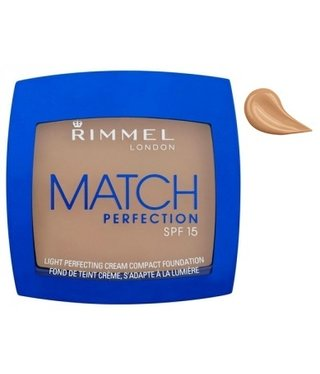 Rimmel  Rimmel - Match Perfection Cream Compact Foundation - 402 Bronze