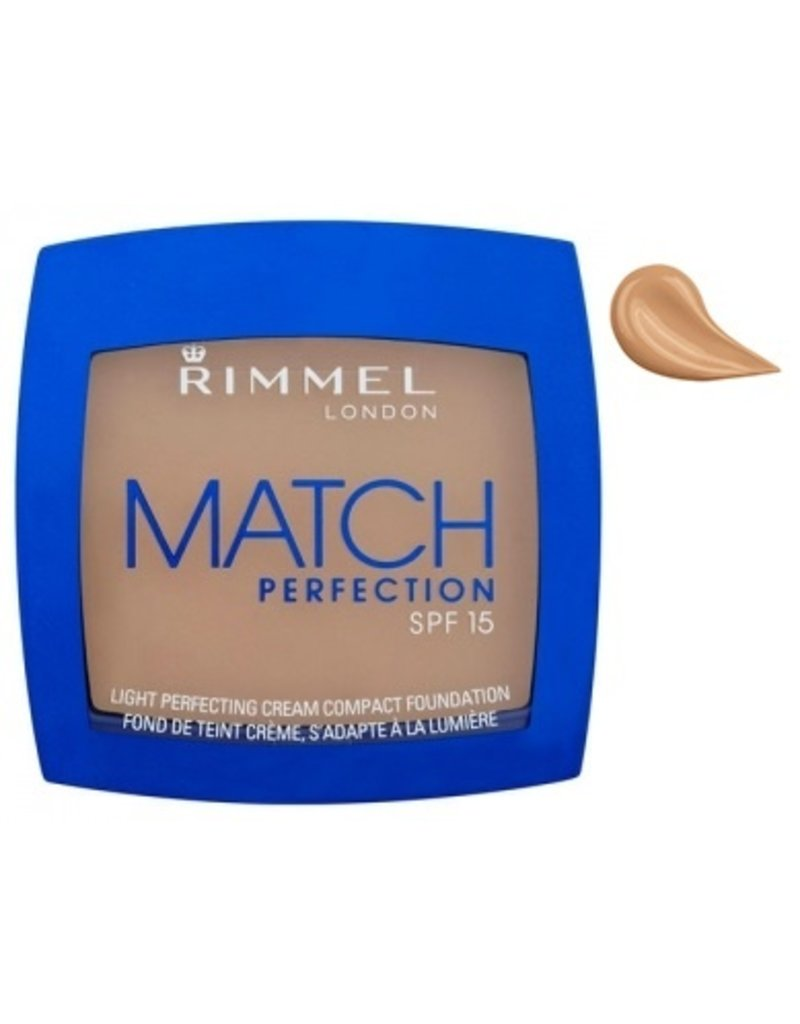 Rimmel  Rimmel - Match Perfection Cream Compact Foundation - 402 Bronze