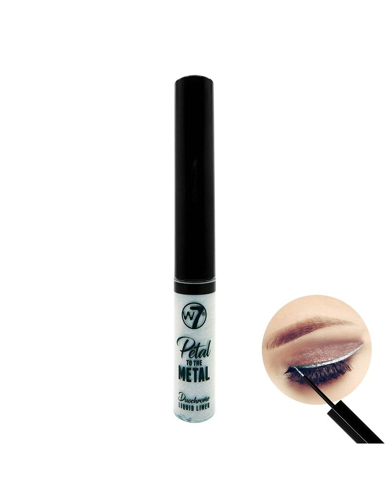 W7  W7 - Petal To The Metal - Duochrome Liquid Eyeliner - Outrageous Orchid