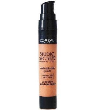 Loreal Loreal - Studio Secrets Anti-Dull Skin Primer - Medium Skin