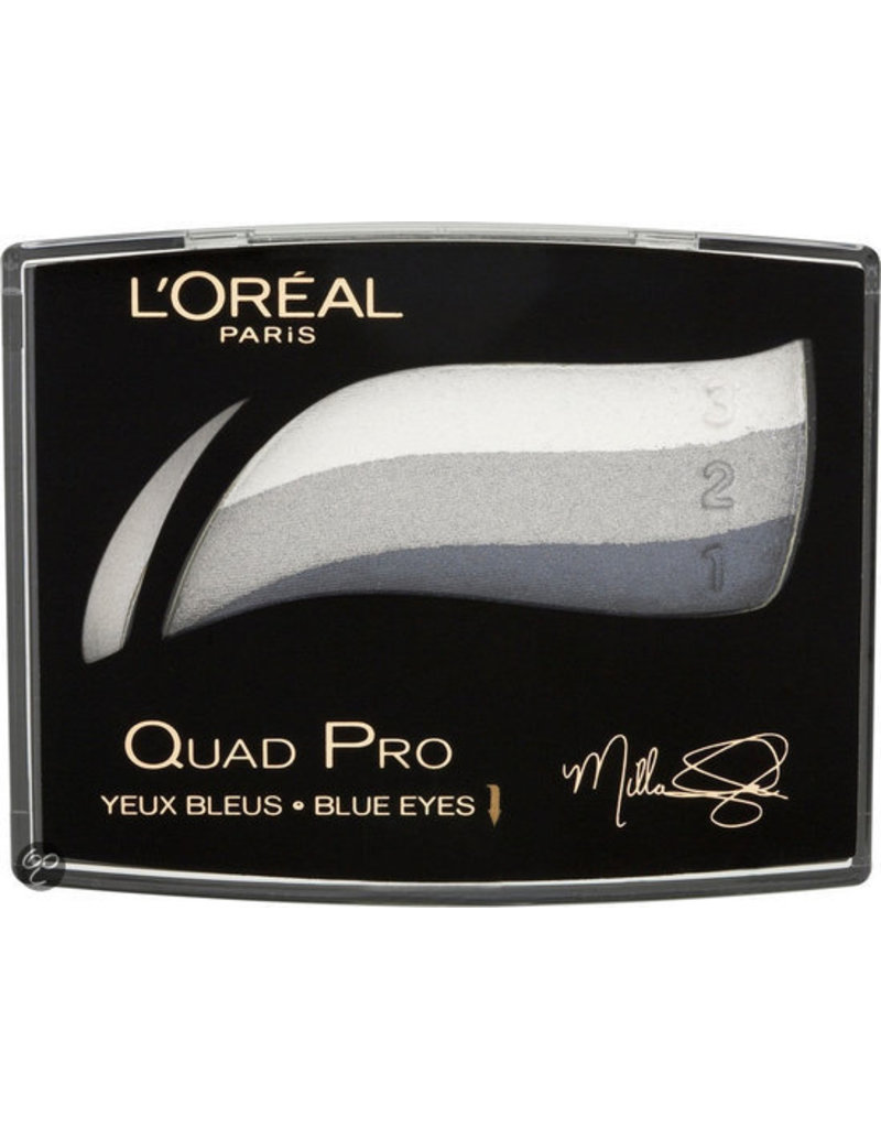 Loreal Loreal - Colour Appeal Quad Pro Eyeshadows - 337 Sapphire Crystal