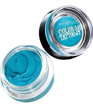 Maybelline Maybelline - Color Tattoo 24HR Oogschaduw - 20 Turquoise Forever