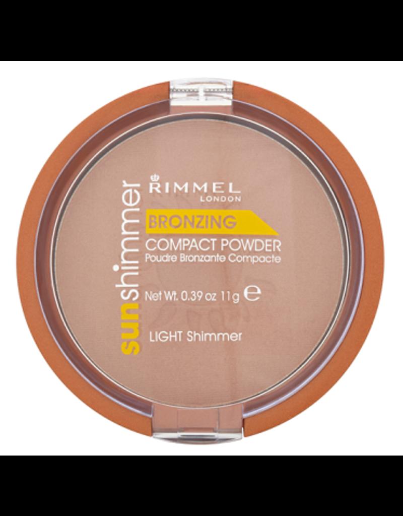 Rimmel  Rimmel - Sun Shimmer Bronzing Powder - Bronzer - Light Shimmer