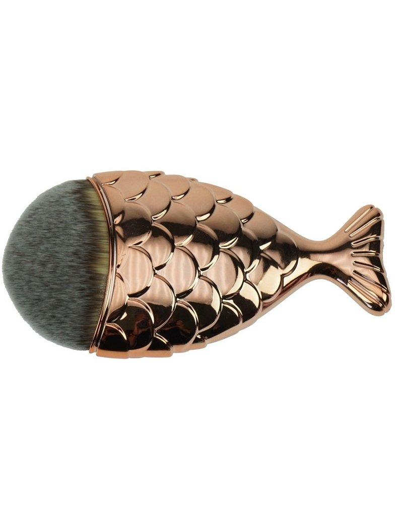 Beautyinstyle Beau - Mermaid Penseel - Bronze