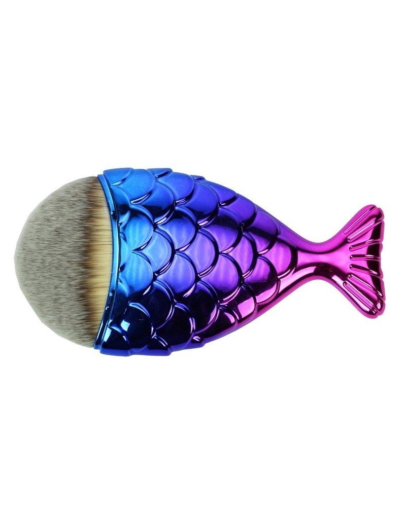 Beautyinstyle Beau - Mermaid Penseel - Pink Blue