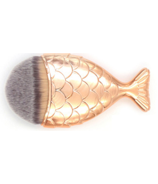Beautyinstyle Beau - Mermaid Penseel - Bronze Gold