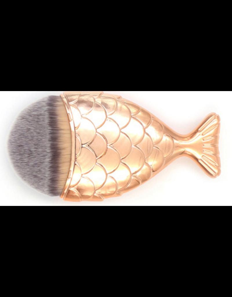 Beautyinstyle Beau - Mermaid Penseel - Bronze Gold