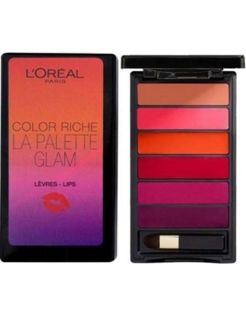 Loreal Loreal - Color Riche - La Palette - Glam